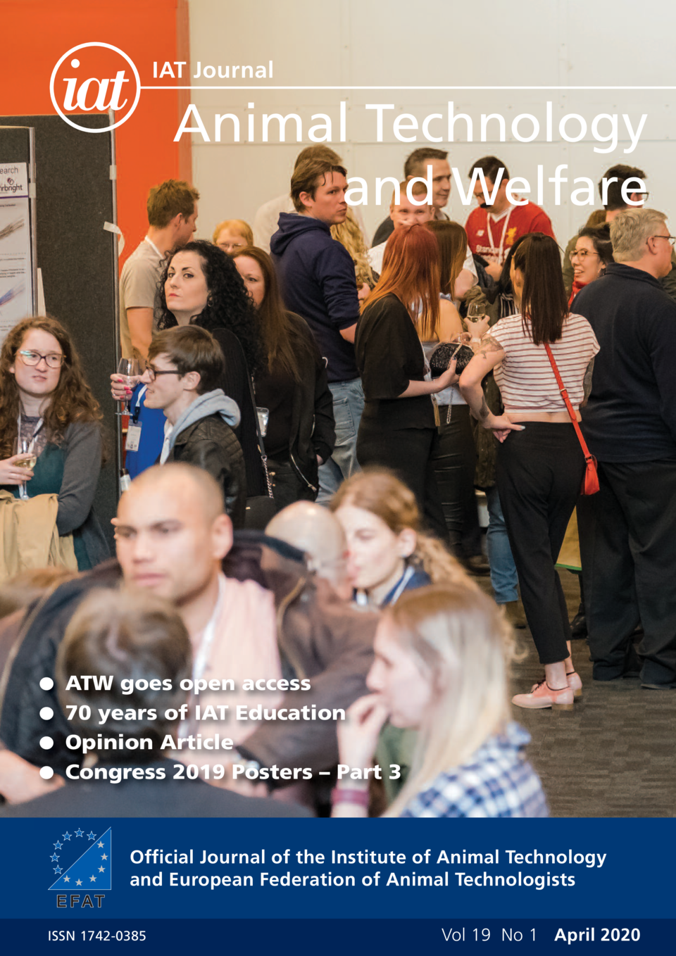 IAT Journal  Animal Technology and Welfare  G ATW goes open access  G 70 years of IAT Education G Opinion Article  G Congr...